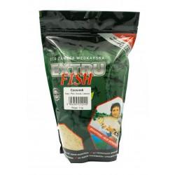 Zanęta czosnek 1 kg Extru Fish